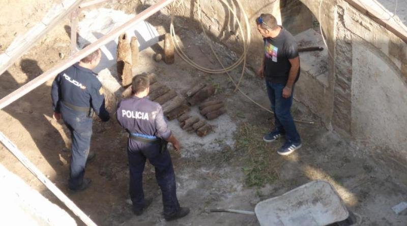 civil war bombs found in Alcoy