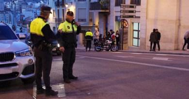 motorcycle crash in Alcoy