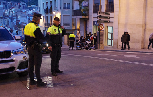 motorcycle crash in Alcoy