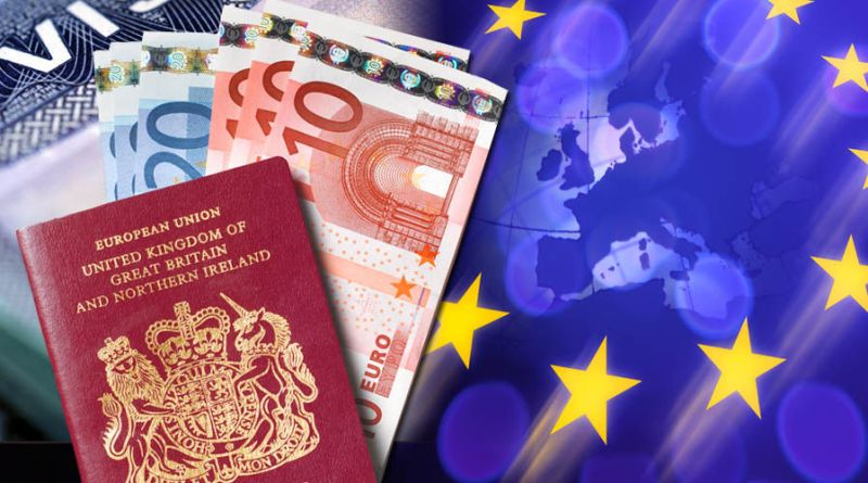 no visa for british citizens eu