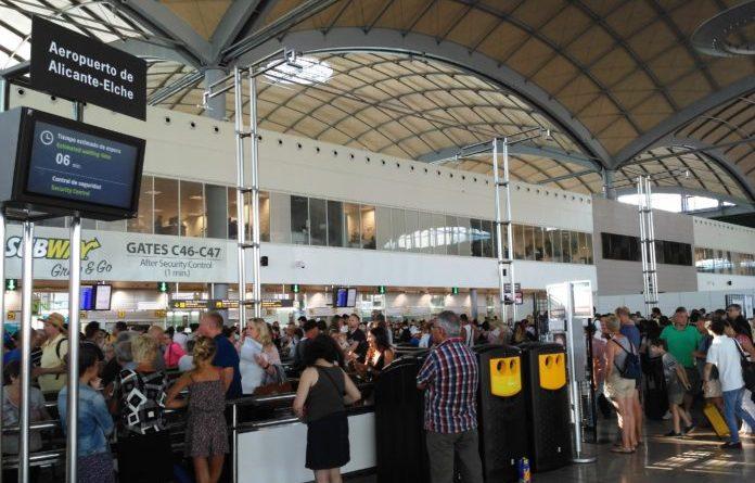 security lines alicante airport