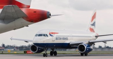 british airways gibralter high winds