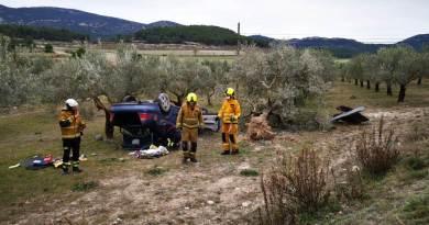 car crash alcoy