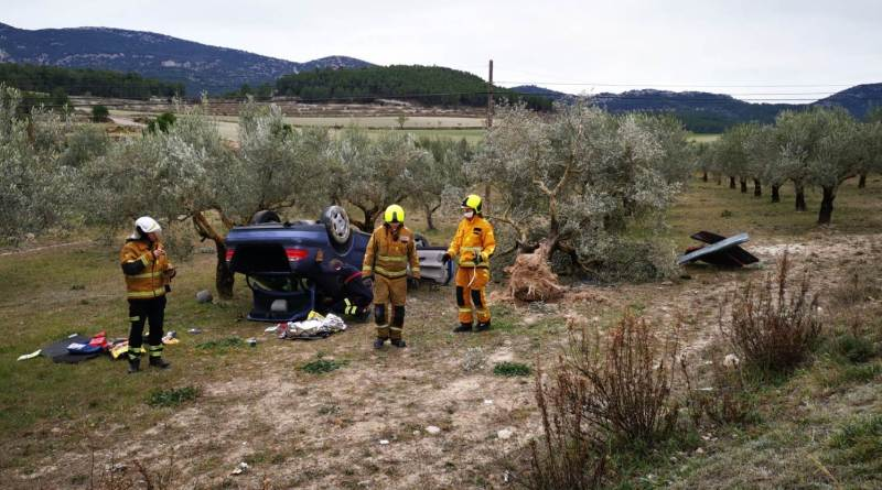 car crash alcoy