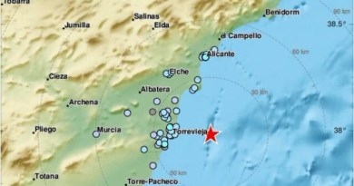 earthquake off alicante