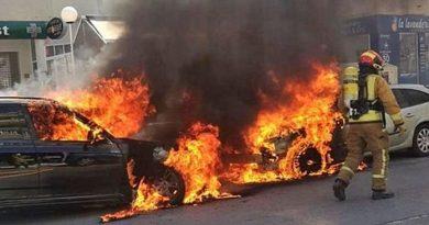 car-fire-costa-blanca