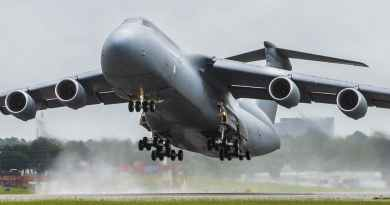 US Airforce C5 Galexy
