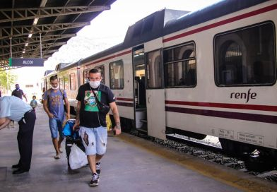 The Xàtiva-Alcoy line will be closed for a month and a half