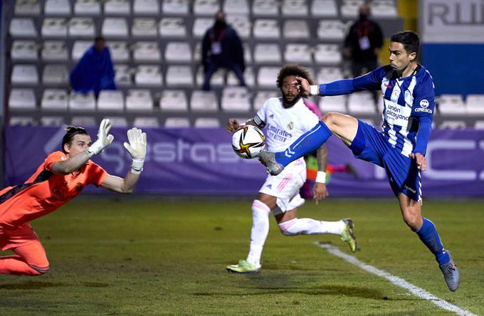 Copa del Rey: Alcoy Beat Real Madrid 2-1