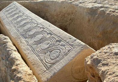 1,400-year-old Visigoth coffin found under a Roman villa in Murcia