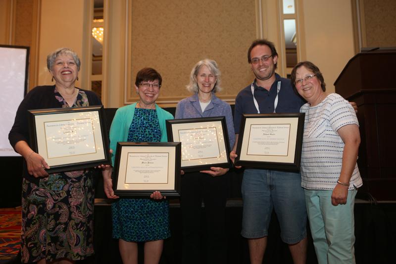 Certificates of Appreciation recipient, sponsor, and presenter