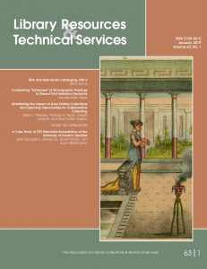 Library Resources & Technical Services (LRTS)