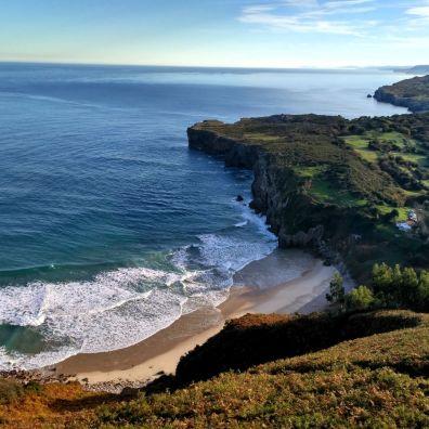 Playa de Andrín, Llanes