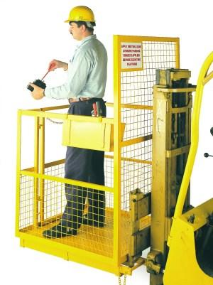 Standard Fork Lift Cage