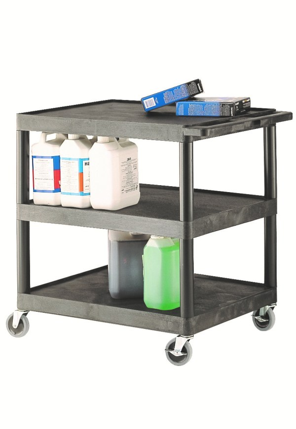 Multi-Purpose 3 Shelf Trolley