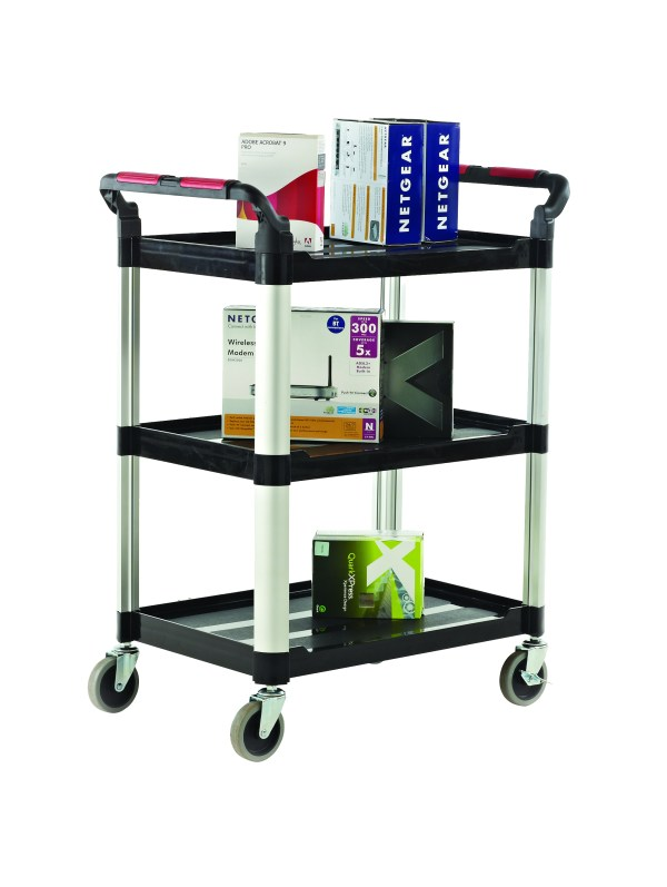 3 Shelf Trolleys