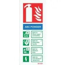 ABC powder Sign