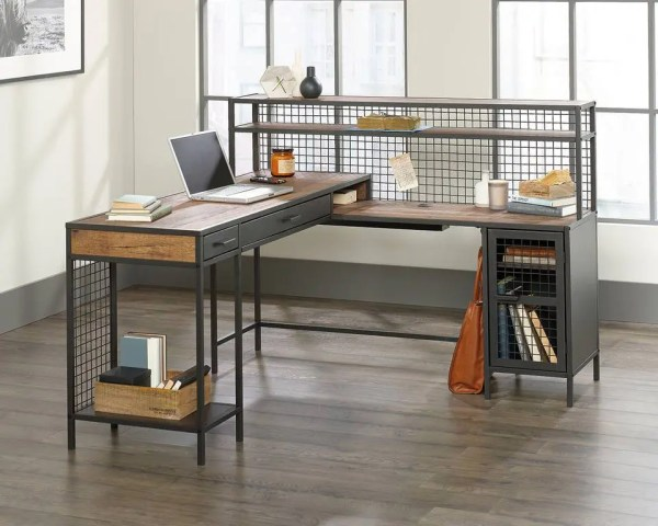 Boulevard Office Café L-Shaped Desk