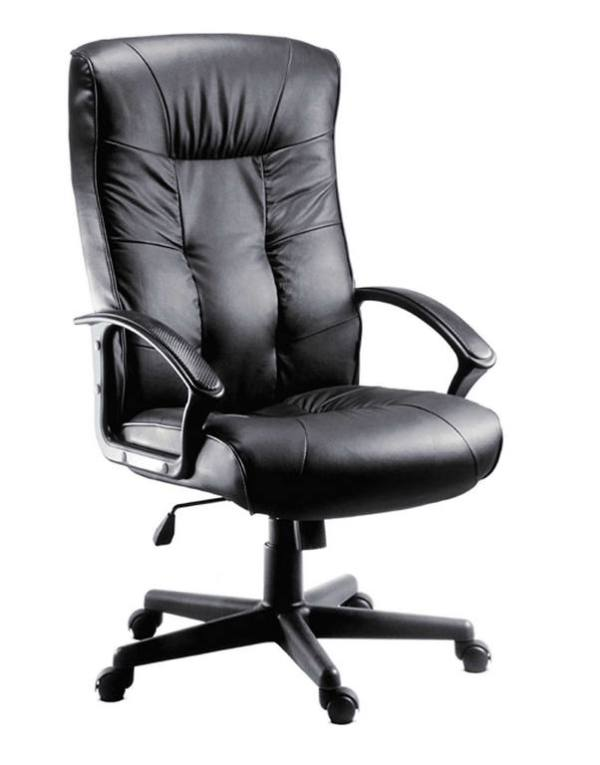 Leather Faced Executive Office Chair