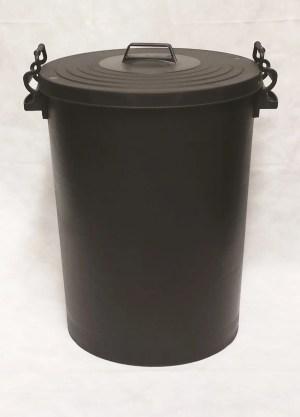Black Clip Dustbin