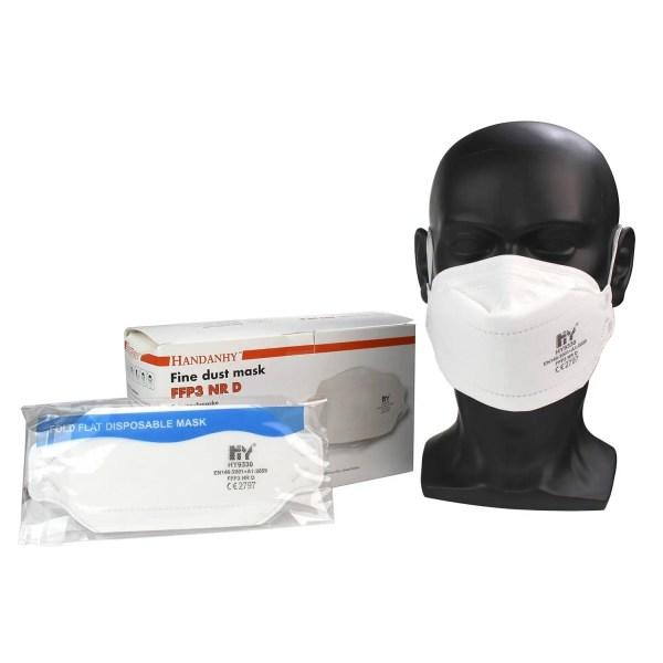 FFP3 NR D Flat Fold Respirator