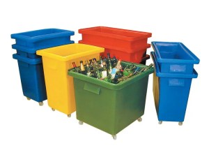 Recycling Container Trucks and Trolleys