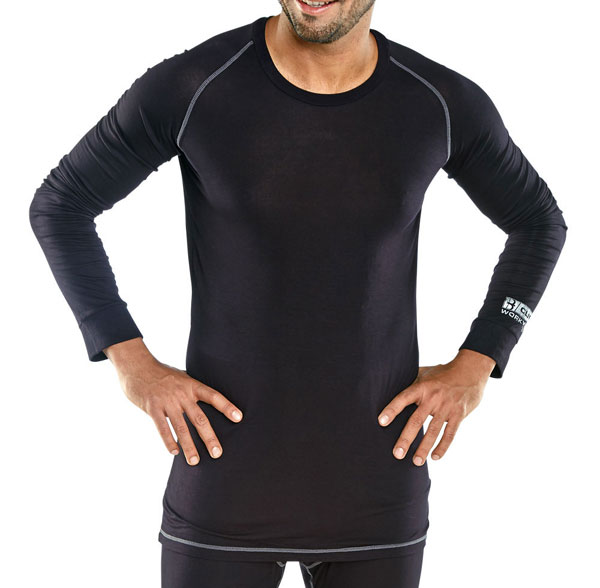Base Layer Long Sleeve Vest
