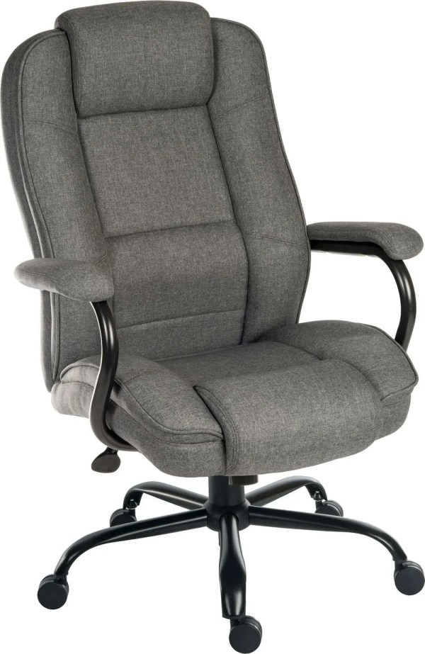 Goliath Duo Grey Fabric Chair