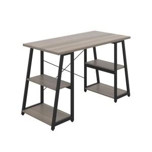 Desk with A-Frame Shelves