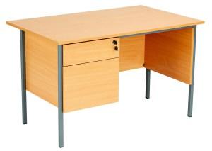 Four Leg Rectangular Desk