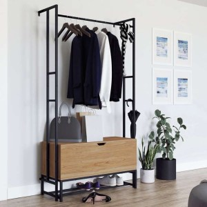 Wall Mounted Hallway Storage