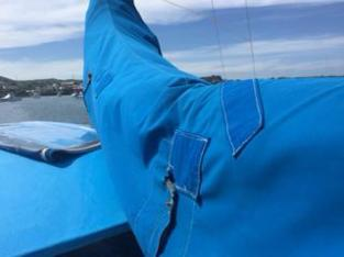 mainsail cover repaired
