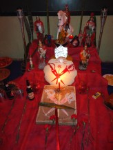 Altar da Festa de Ogum Sete Lanças_2010 (2)