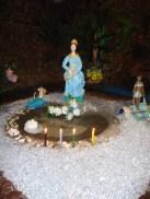 Imagem de Iemanjá no Templo de Umbanda São Miguel Arcanjo_2010