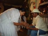 Sacerdote Irbs Santos Ministra Passe na Festa do Pai Joaquim D'Angola_2010 (3)