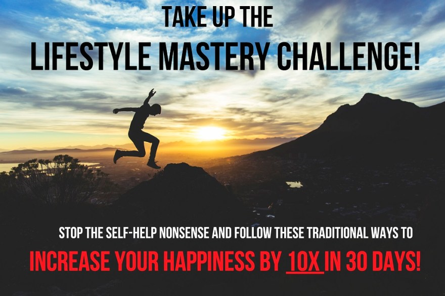 Lifestyle mastery sign