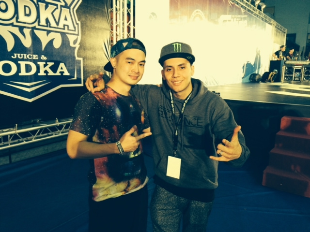Me and Bboy Moy