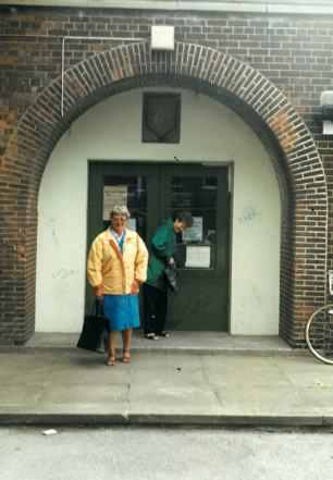 Do you remember when this was the school entrance?