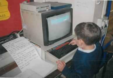 Modern technology in 1999.