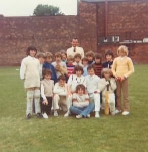 Cricket team 1974.