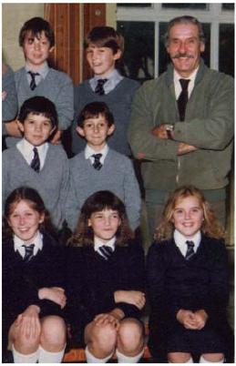 Mr Barry Clatworthy - much loved teacher.