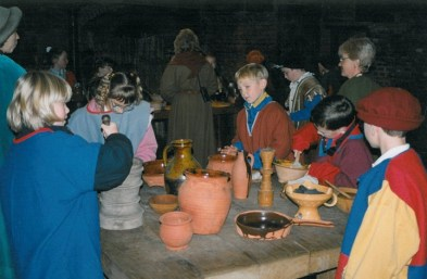 Visit to Gainsborough Old Hall 1999.