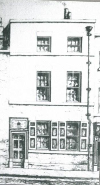 School in Salthouse Lane 1755.