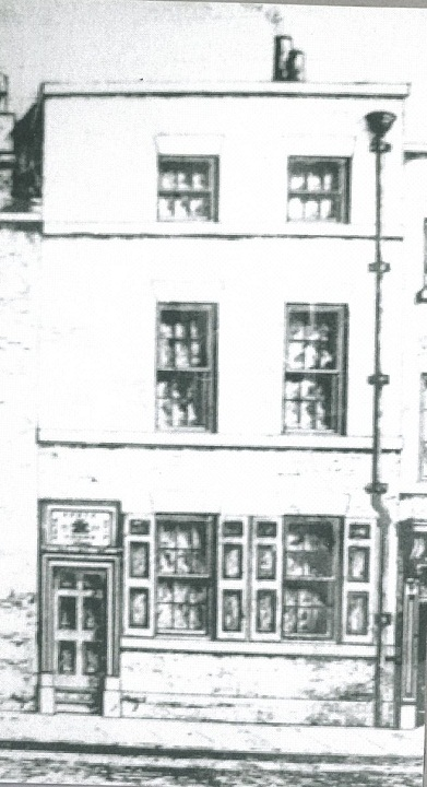 School in Salthouse Lane 1755.