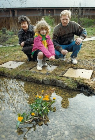 1993 - Year 4 created conservation area and pond
