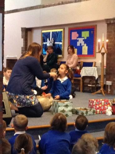 Our Christingle service at St. Aidan's Church