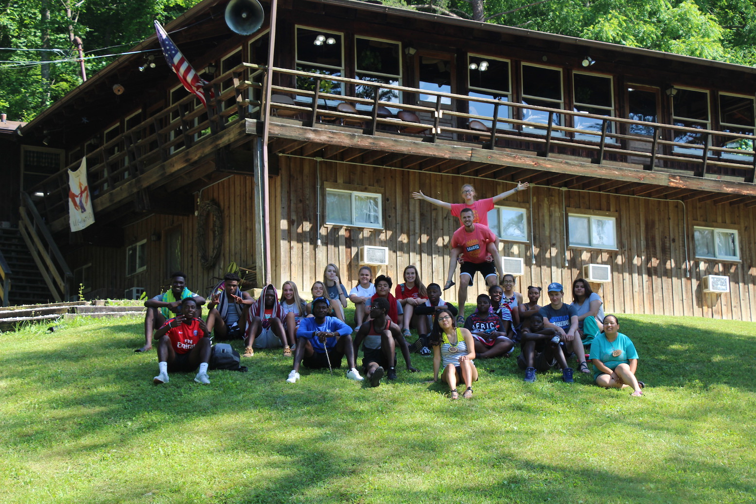 Sr. High Cabin Camp