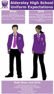 Aldersley School Uniform