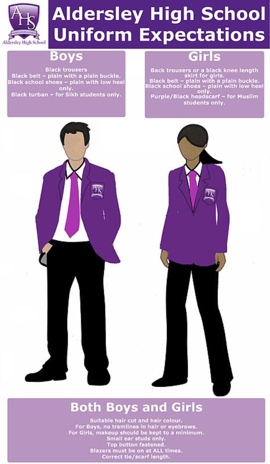 Aldersley School Uniform