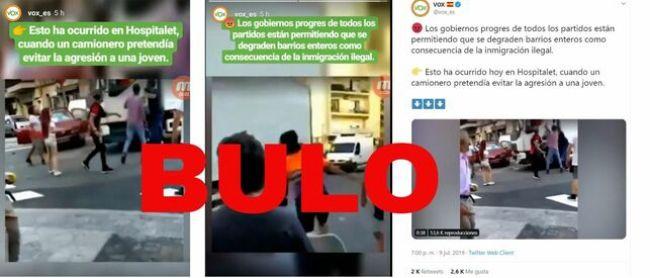 Bulo difundido por Vox sobre supuestas pagas recibidas por los Menores Extranjeros No Acompañados. Autor y fuente: Maldita.es, 2019, (CC BY-SA 3.0.)